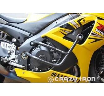 CRAZY IRON дуги Suzuki GSXR1000 '07-'08 + Слайдеры на дуги