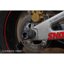 CRAZY IRON слайдеры в ось заднего колеса Honda CBR600RR до '06