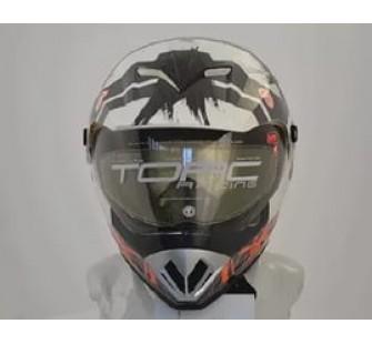 Шлем кроссовый со стеклом ТORC T-37S