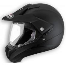 Airoh Кроссовый шлем со стеклом S5 черный матовый