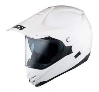 IXS Кроссовый шлем со стеклом  HX207 белый