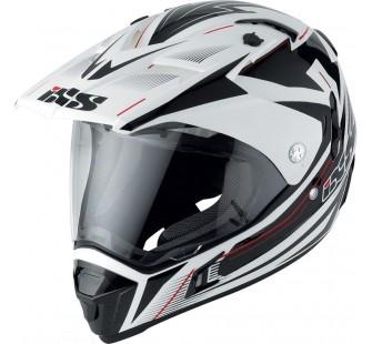IXS Шлем для мотокросса HX 297 ROUTE с визором белый