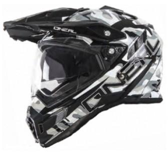ONEAL Шлем Sierra Adventure Helmet SNIPER чёрно-белый