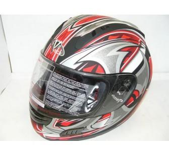 Шлем (интеграл)  ALTURA  Shuriken  красный