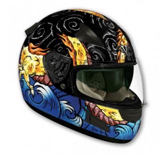 Шлем (интеграл) НD188  DRAGON  глянцевый