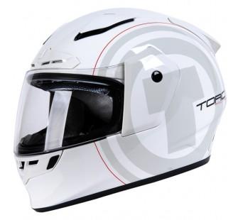 Шлем интеграл прем. ТORC T-19 WHITE ANIME