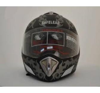 """Шлем интеграл """"Safelead"""" LX-180 мат.овый черный  Q34"""