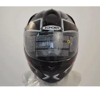 Шлем интеграл ZONDER-806 White/II31 Green