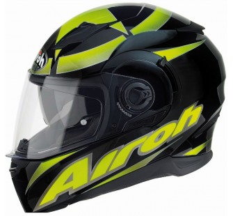 Airoh Шлем интеграл MOVEMENT SHOT чёрный жёлтый