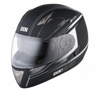 IXS Шлем интеграл HX 1000 Fork черно-белый