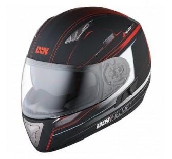 IXS Шлем интеграл HX 1000 Fork черно-красный