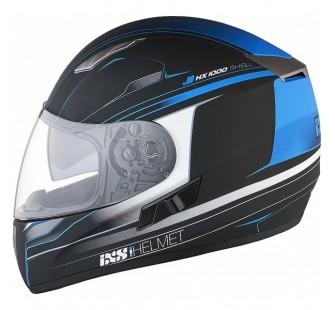 IXS Шлем интеграл HX 1000 Fork черно-синий