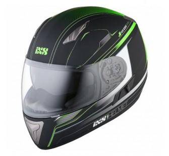 IXS Шлем интеграл HX 1000 Fork черно-зеленый