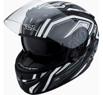IXS Шлем интеграл HX 215 Cristal черно-серый