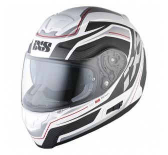 IXS Шлем интеграл HX 215 Zenium бело-серый