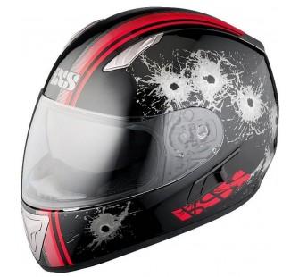 IXS Шлем HX 1000 SHOOT чёрно-красный