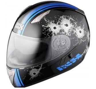 IXS Шлем HX 1000 SHOOT чёрно-синий