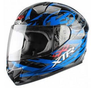 XTR Шлем интеграл FFE1 Hazard Graphic blue