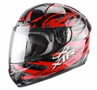 XTR Шлем интеграл FFE1 Hazard Graphic red