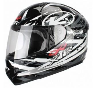 XTR Шлем интеграл FFE1 Hazard graphic grey