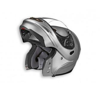 Шлем (модуляр) SUMMIT II Solid серебристый  глянцевый