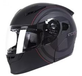 Шлем модуляр ТORC T-23 Flat BLACK NEW