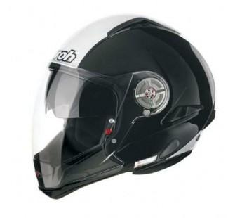 Airoh Шлем модуляр J-105 BICOLOR чёрно-белый