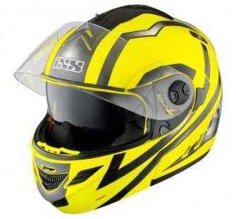 IXS Шлем модуляр HX333 STROKE желто-черный