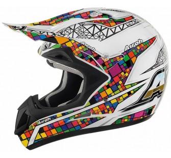 Airoh Кроссовый шлем JUMPER MULTICOLOR цветной