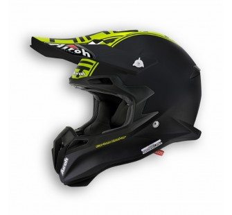 Airoh Кроссовый шлем TERMINATOR2.1 COM зелёный