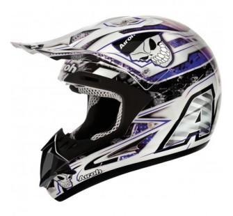 AirohКроссовый шлем JUMPER MISTER X синий