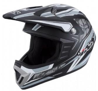 IXS Шлем кроссовый HX 261 THUNDER черный