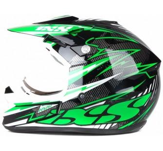 IXS Шлем кроссовый HX 261 THUNDER зеленый