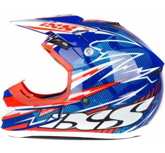IXS Шлем кроссовый HX 261 THUNDER синий