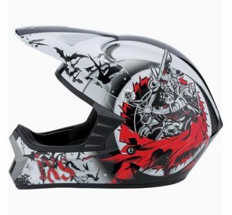 IXS Шлем кроссовый HX276 SWORD красно-белый
