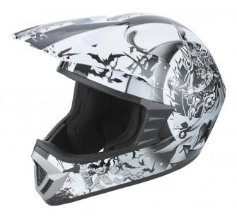 IXS Шлем кроссовый HX276 SWORD серо-белый