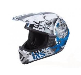 IXS Шлем кроссовый HX276 SWORD сине-белый