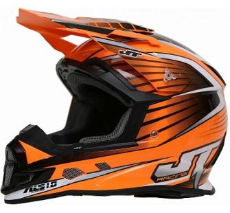 JT Racing Шлем кроссовый  ALS1.0 оранжевый