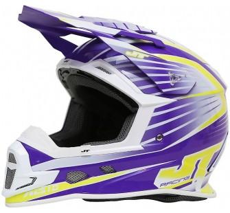 JT Racing Шлем кроссовый  ALS1.0 фиолетовый