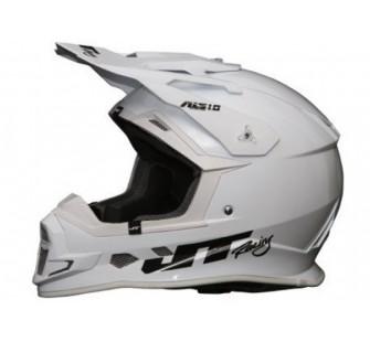JT Racing Шлем кроссовый ALS1.0 белый