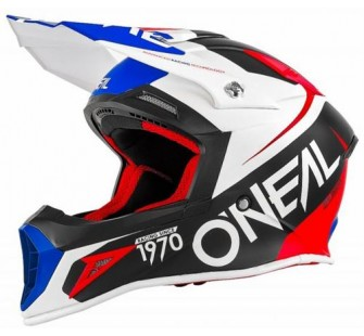 ONEAL Кроссовый шлем 10Series FLOW красно-синий