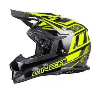 ONEAL Кроссовый шлем 2Series MANALISHI чёрно-желтый флуоресцентный