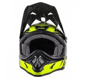 ONEAL Кроссовый шлем 3Series FUEL чёрно-флуо-желтый