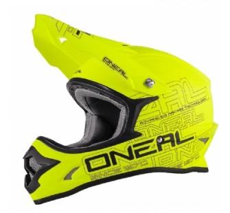 ONEAL Кроссовый шлем 3Series SOLID флуо-желтый