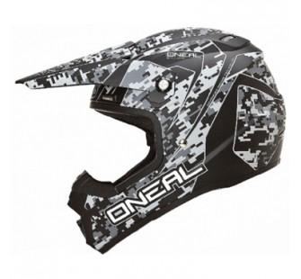 ONEAL Кроссовый шлем 5Series DIGI CAMO серый