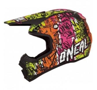 ONEAL Кроссовый шлем 5Series VANDAL чёрно-желтый неон