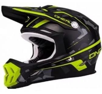 ONEAL Кроссовый шлем 7Series CAMO серый/желтый