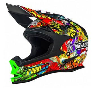 ONEAL Кроссовый шлем 7Series CRANK чёрный/цветной