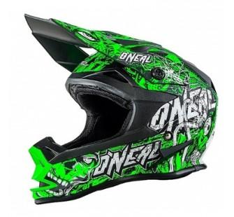 ONEAL Кроссовый шлем 7Series Evo MENACE зеленый неон