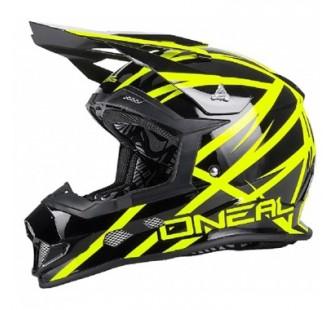 ONEAL Шлем кроссовый 2Series Helmet Thunderstruck черно-желтый неоновый